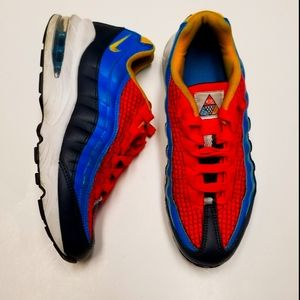"Nike Air Max 95 ""Crimson blue"" Sz 6"